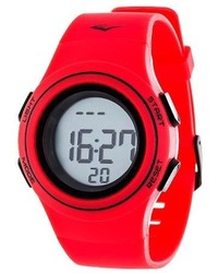 Heart rate monitor watch red medium 755761