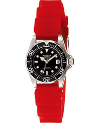 Invicta Sapphire Lady Jelly Diver 7070 Blackred Watches