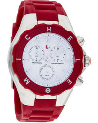 Michele Tahitian Jelly Bean Chronograph Watch