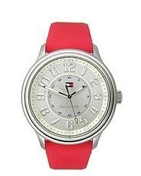 Tommy Hilfiger Classic Stainless Steel And Silicone Strap Watch 1781285