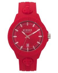 Versace Versus By Tokyo Silicone Strap Watch