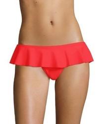 Milly Sirolo Ruffle Bikini Bottom