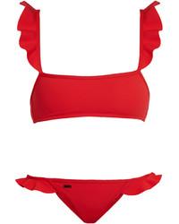 Rouches ruffle trimmed bikini medium 1194316