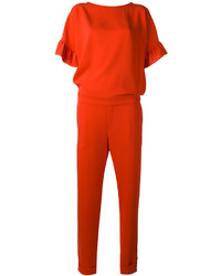 P.A.R.O.S.H. Ruffle Sleeve Jumpsuit