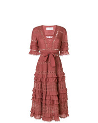 Zimmermann Cosair Frill Tier Long Dress