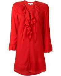 IRO Ruffled Placket Dress