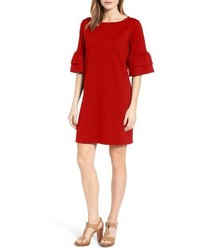Ruffle sleeve shift dress medium 3663168
