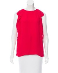 Kate Spade New York Ruffle Trimmed Sleeveless Blouse W Tags
