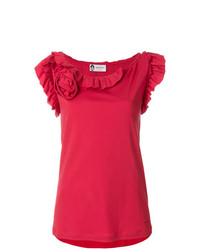Lanvin Ruffled Tank Top