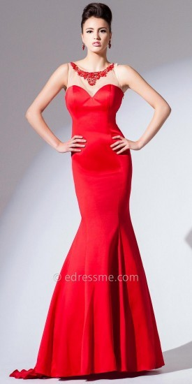 Tony Bowls Red Evening Dresses