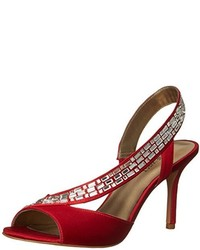 Giulia satin heeled sandal medium 3649297