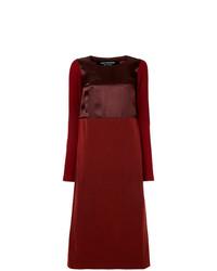 Junya Watanabe Comme Des Garçons Vintage Satin Effect Midi Dress
