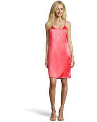 Boohoo Boutique Tanya Satin Cage Back Slip Dress