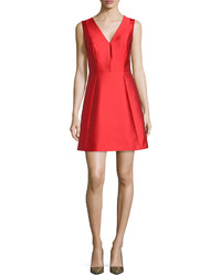 Kate Spade New York Sleeveless Bow Back Fit And Flare Dress