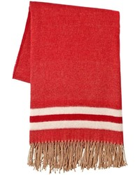 Dsquared2 Oversized Fringed Wool Scarf