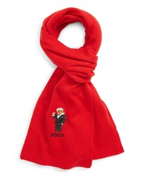 Polo Ralph Lauren Santa Hat Martini Bear Scarf