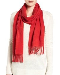 Solid woven cashmere scarf medium 874373