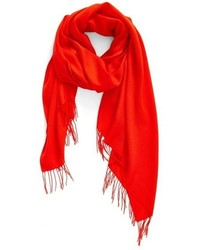 Nordstrom Tissue Weight Wool Cashmere Scarf