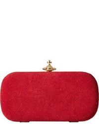 Vivienne Westwood Angel Glitter Medium Clutch Clutch Handbags
