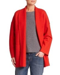 Eileen Fisher Wool Shawl Collar Cardigan