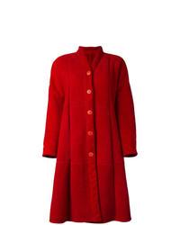 Red Shearling Coat