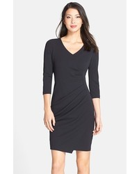 NYDJ Rosella Stretch Crepe Sheath Dress