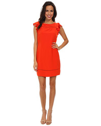 Jessica Simpson Flounce Ruffle Dress Js5e7140