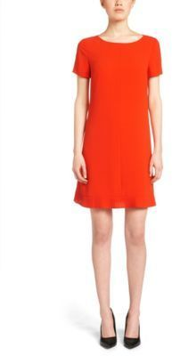 cfa777e7a3 ... Hugo Boss Diflena Crepe Shift Dress 4 Red