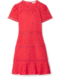 MICHAEL Michael Kors Med Broderie Anglaise Cotton Mini Dress