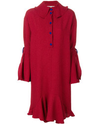 Edeline Lee Shirt Dress With Frill