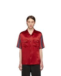 Gucci Red Bowling Shirt