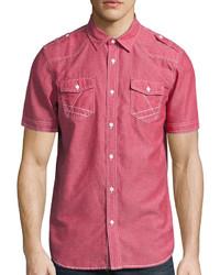 i jeans by Buffalo Short Sleeve Merrick Woven Shirt