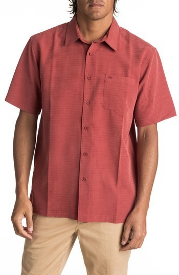 125755d3 ... Quiksilver Waterman Collection Centinela 4 Short Sleeve Sport Shirt ...