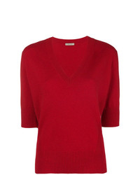 Bottega Veneta Deep V Neck Sweater