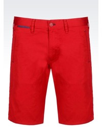 Armani Jeans Stretch Cotton Bermuda Shorts