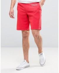 Jack Wills Balmore Sweatshorts In Washed Red