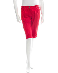 Dolce & Gabbana Cuffed Bermuda Shorts