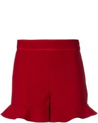 RED Valentino Flared Hem Shorts