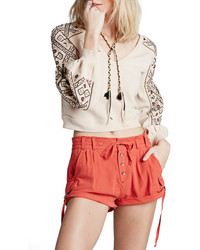 Free People Melvin Cotton Cargo Shorts