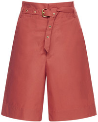Isabel Marant Neddy High Waisted Bermuda Shorts