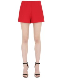 Valentino Wool Silk Crepe Couture Shorts
