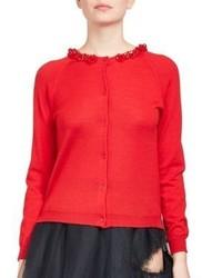 Simone Rocha Wool Cardigan Sweater