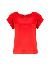 Caris silk t shirt medium 37226