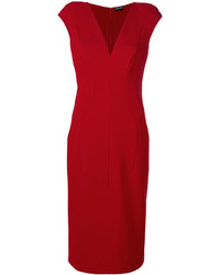 Tom Ford Fitted Panel Dress