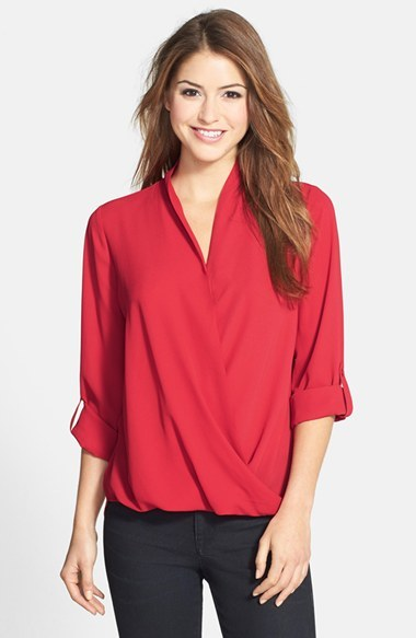 Pleione Faux Wrap Blouse | Where to buy & how to wear