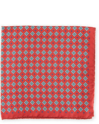 Eton Neat Silk Pocket Square