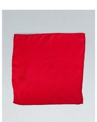 Joseph Abboud Red Silk Pocket Square