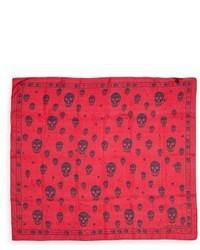 Punk skull silk scarf medium 3747886