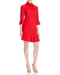 Karen Millen Tie Neck Dress 100% Bloomingdales