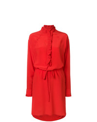 Zadig & Voltaire Zadigvoltaire Rizzo Ruffle Trim Dress